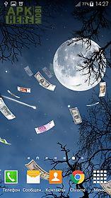 falling money 3d wallpaper