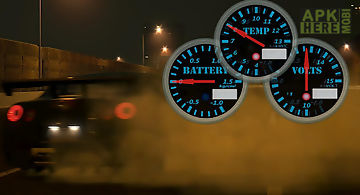 Hashiriya meter widget free