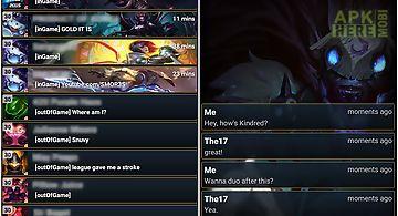 Lol chat (free)