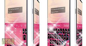 Pink party keypad art