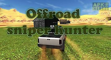 4x4 offroad sniper hunter