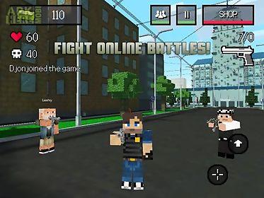 block city wars: mine mini shooter