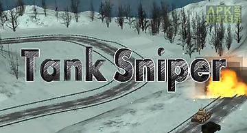 Tank shooting: sniper game