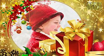 Christmas photo frames hd