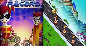 Clown racers: extreme mad race