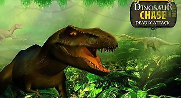 Dinosaur chase: deadly attack