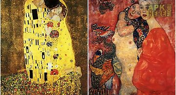Klimt art gallery wallpaper xy