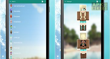 new girl skins for minecraft