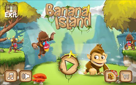 banana island –monkey kong run