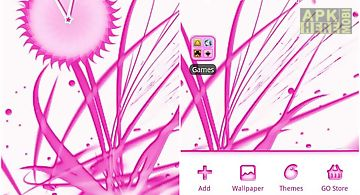 Pink chill go launcher ex
