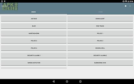 siren alarm horn sounds for android free download at apk here