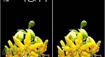 Flower bud Live Wallpaper