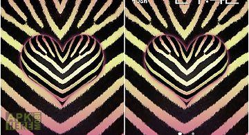 Pink zebra Live Wallpaper