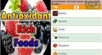 Antioxidant foods rich
