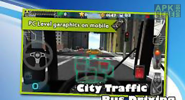 City bus real driving