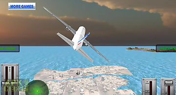 Flight simulator boeing 3d fly