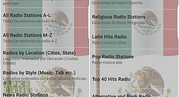 Free mexican radio stations