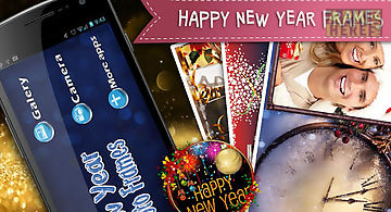 Happy new year frames