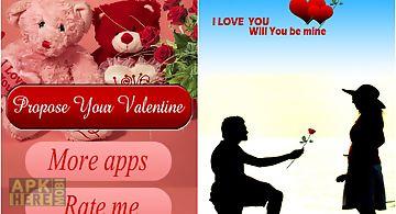 Love proposal 4 valentine day