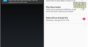 Obb on sd (xposed)