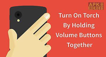 Torchie - volume button torch