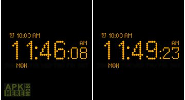 Bedside alarm clock free