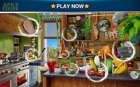 hidden objects messy kitchen