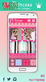 princess photo collages