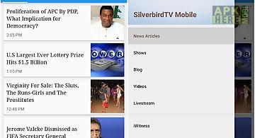Silverbird tv mobile