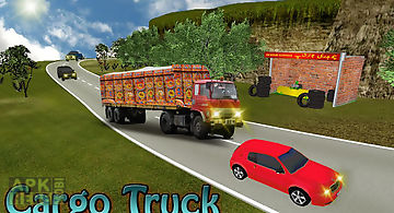 Truck simulator off road drive