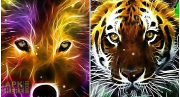 3d wild animals  Live Wallpaper