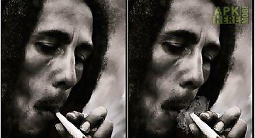 Bob marley smoking  Live Wallpap..