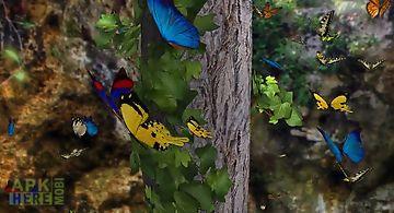 Butterfly 3d Live Wallpaper
