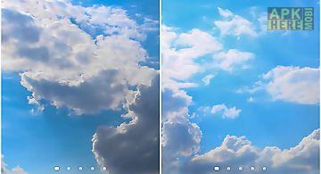 Clouds hd 5 Live Wallpaper