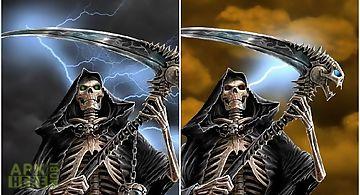 Dark death  Live Wallpaper