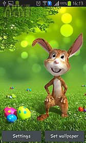 easter bunny live wallpaper