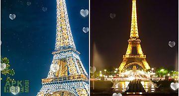 Eiffel tower: paris Live Wallpap..