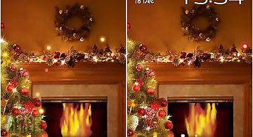 Fireplace new year 2015 Live Wal..