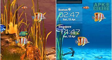 Galaxy aquarium Live Wallpaper