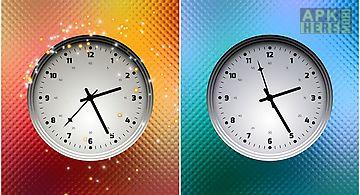 Multicolor clock Live Wallpaper