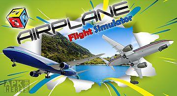 Airplane flight simulator 3d