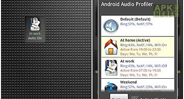 Audio profile for android free