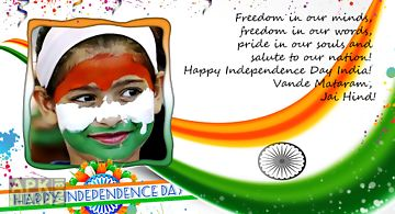 Happy independence day frames