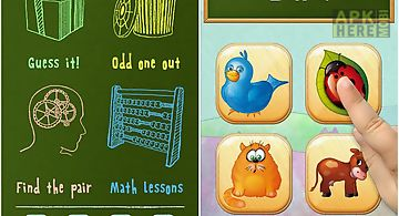 Kids memory and math trainer