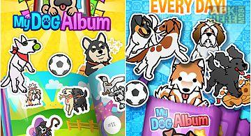 My dog album - sticker book