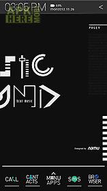 typo black atom theme
