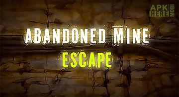 Abandoned mine: escape room