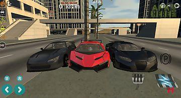 Airport taxi parking drift 3d