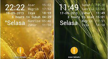 Azan scheduler
