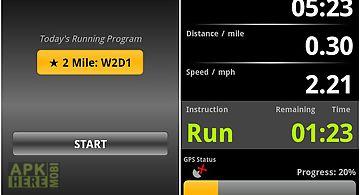 C25k running accutrainer
